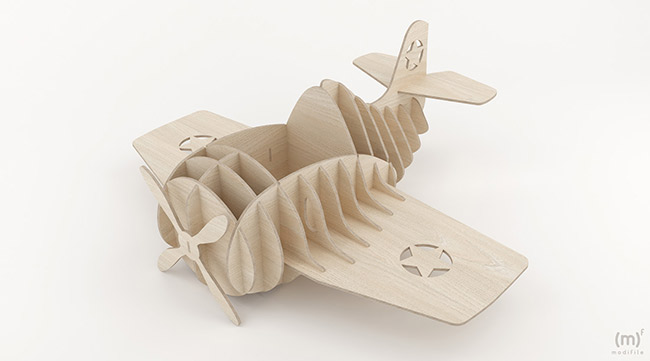 Airplane Costume wooden toy
