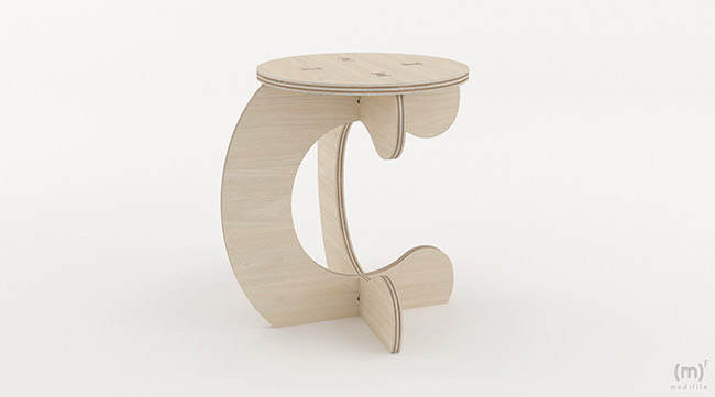 Monkey Stool wooden furniture