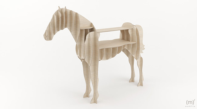 Horse Cabinet wooden furniture