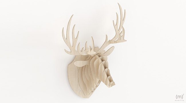 Deer Head wooden furniture