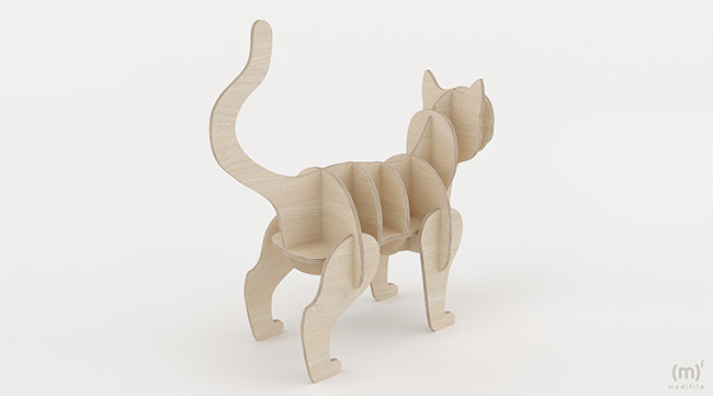 Cat Shelving wooden furniture