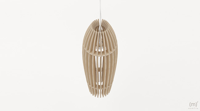 Roma Pendant Lamp wooden furniture