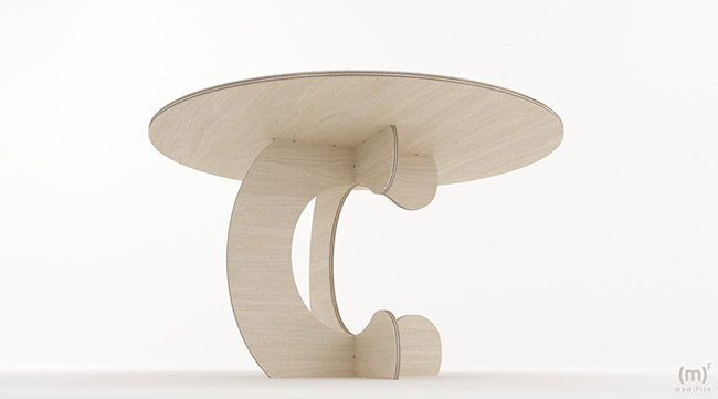 Monkey Table wooden furniture