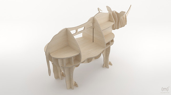Rhino Cabinet wooden furniture