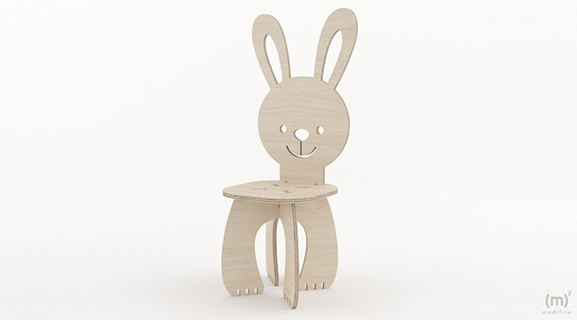 Rabbit Chair wooden furniture