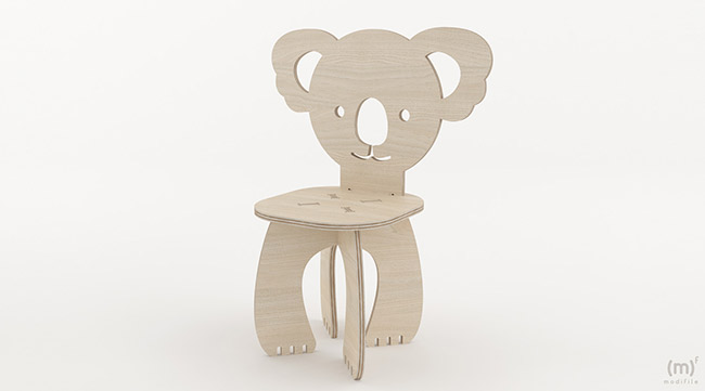 Panda Chair wooden furniture