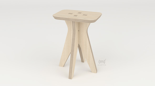 Hermes Stool wooden furniture