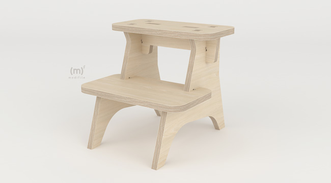 Step Stool wooden furniture