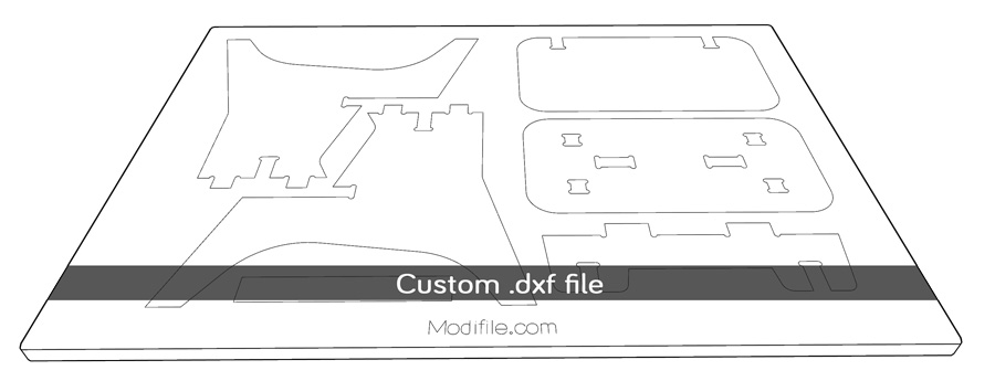plans dxf for cnc machine