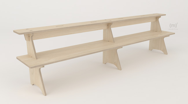 Libra Shelf wooden furniture