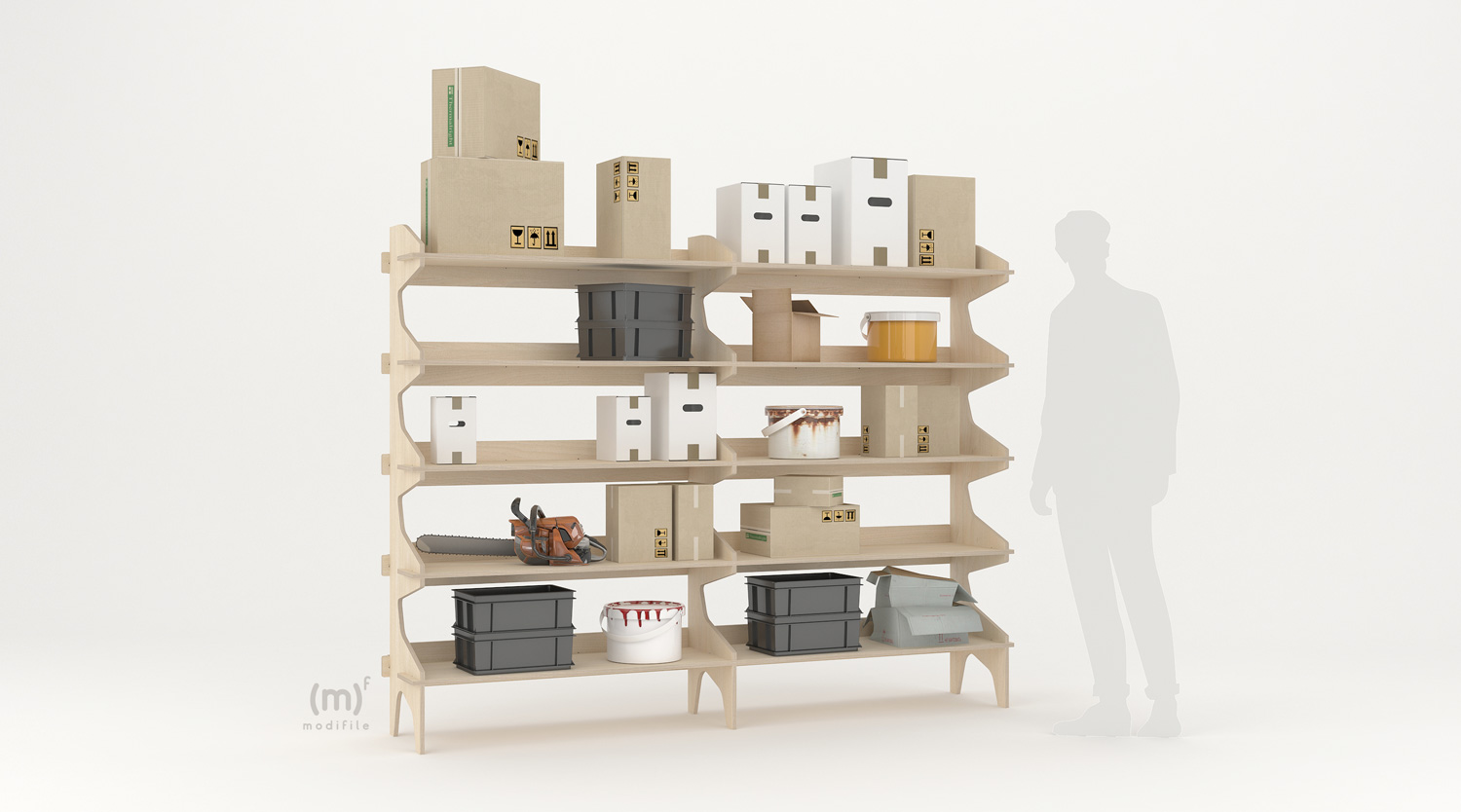 Europa Shelving wooden furniture